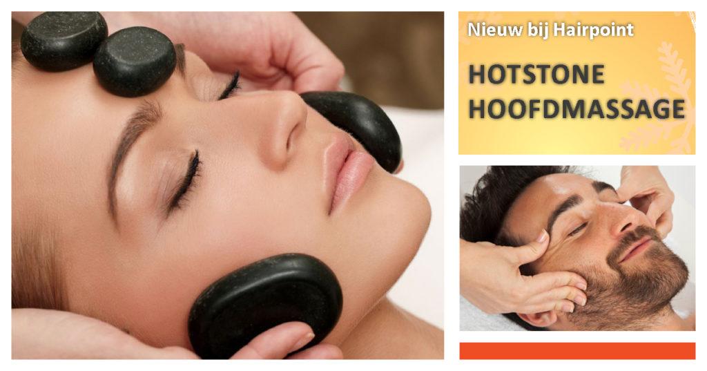 hotstone massage hoofdmassage